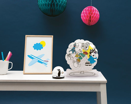 Globe 3D Air-toy Atlas