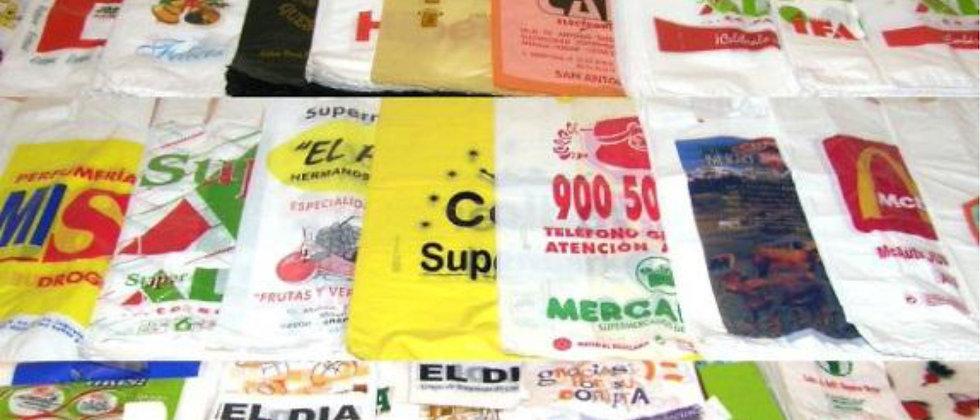 15000 Bolsas de Plástico Modelo Camiseta