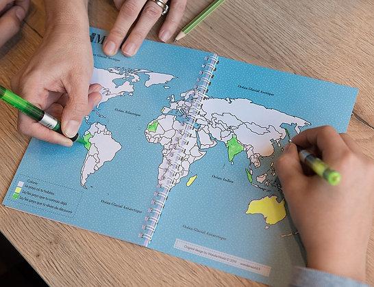 Carnet de voyage - Destination à personnaliser