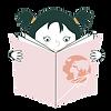 Petite fille qui tient un livre pour enfants sur le thème des voyages