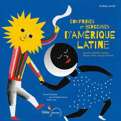 Comptines et berceuses d'Amérique Latine (1 livre + 1 CD)