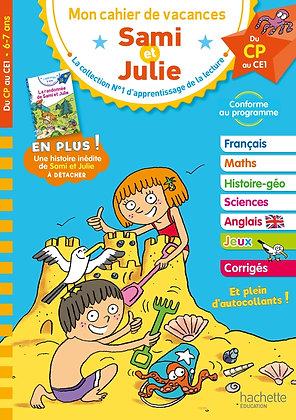 Sami et Julie - Du CP au CE1 - cahier vacances 2021