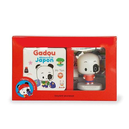 Gadou découvre le Japon - coffret livre + figurine