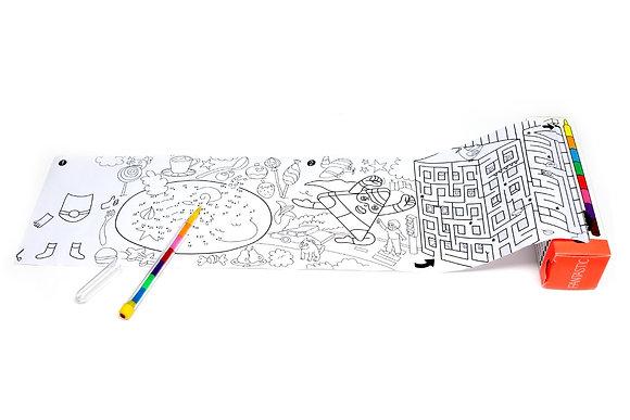 Jeux de poche et coloriage - Fantasy