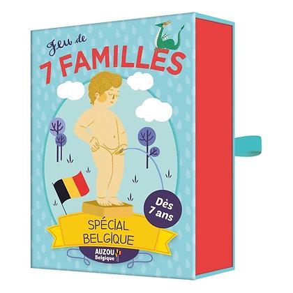 Jeu des 7 familles - spécial Belgique