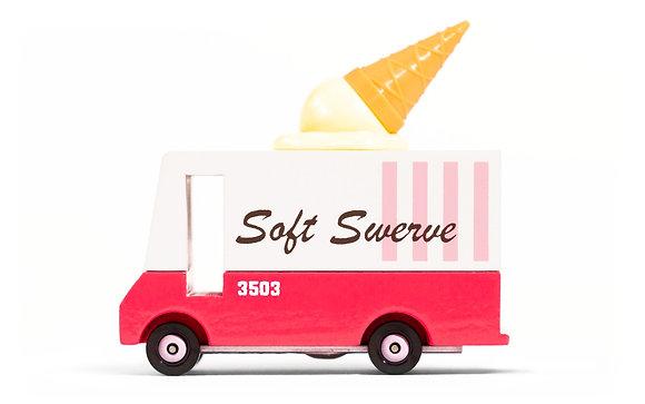 Le petit camion à glaces vintage