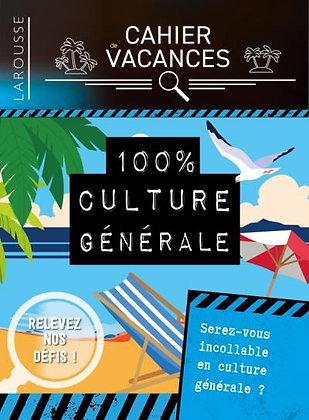 Cahier de vacances Larousse adultes Spécial culture générale