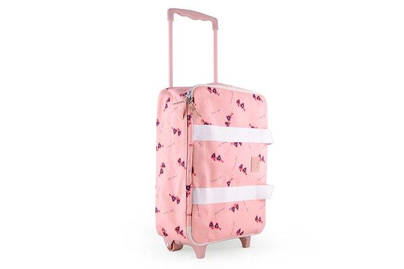 Mini valise à roulette Lunettes