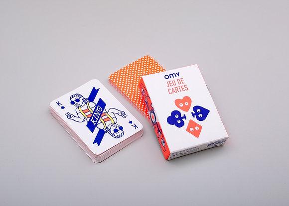 Jeu de 55 cartes originales OMY