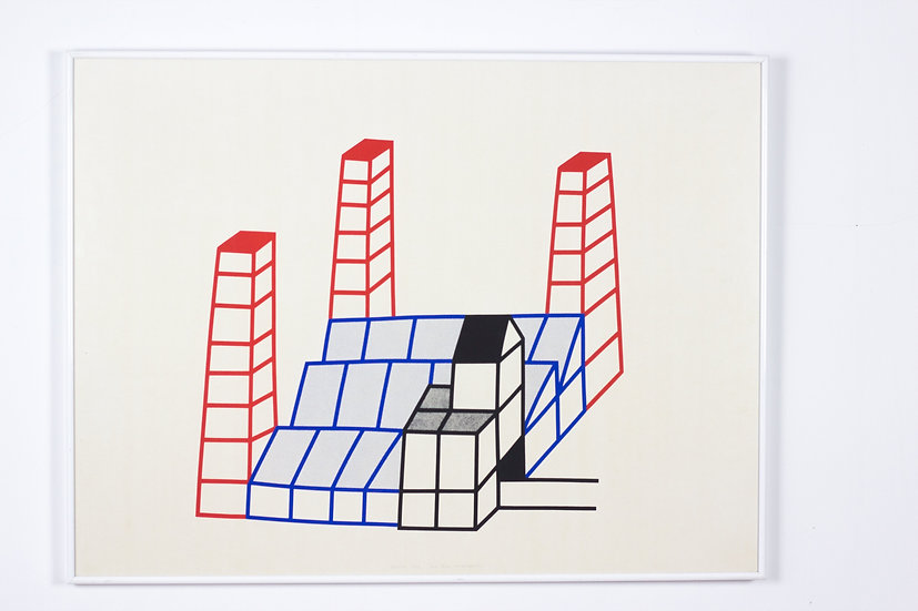Luc Van Malderen - Signed Lithograph