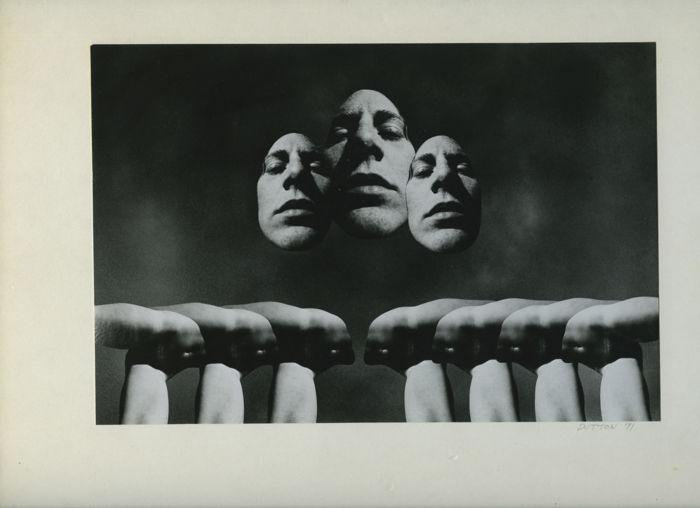 Allen A. Dutton - Surrealist photomontage #11 (1971)