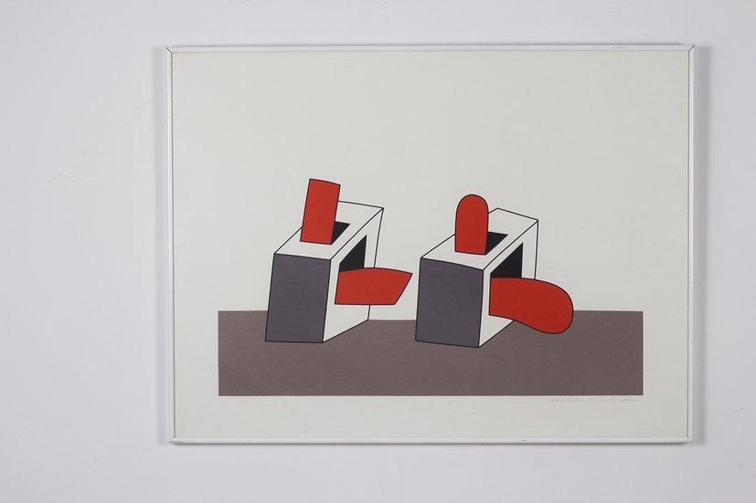 Luc Van Malderen - Signed Lithograph 'Pandora's Box'
