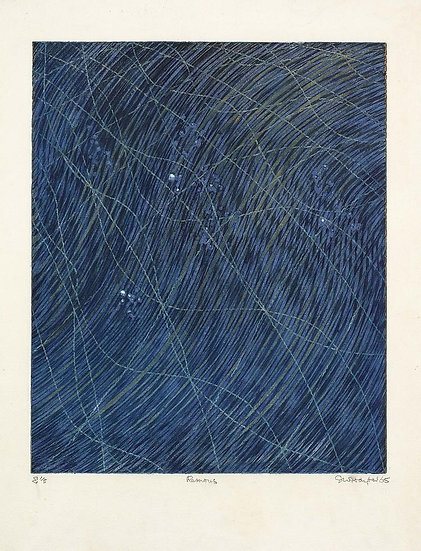 Stanley William Hayter (1901-1988) - Remous, 1965 - Color Etching