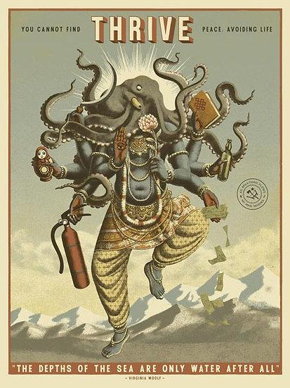 Ravi Zupa - 'Thrive' Print