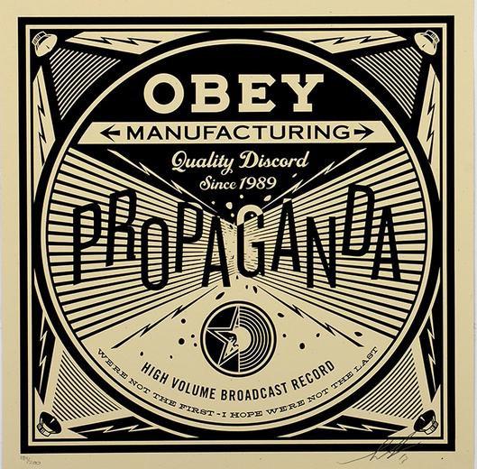 Obey Shepard Fairey buy art online Propaganda signed print gallery affordable art europe belgium