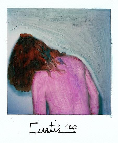 Curtiz Original Polaroid Signed Kris De Meester Buy art Online Affordable art Europe Belgium