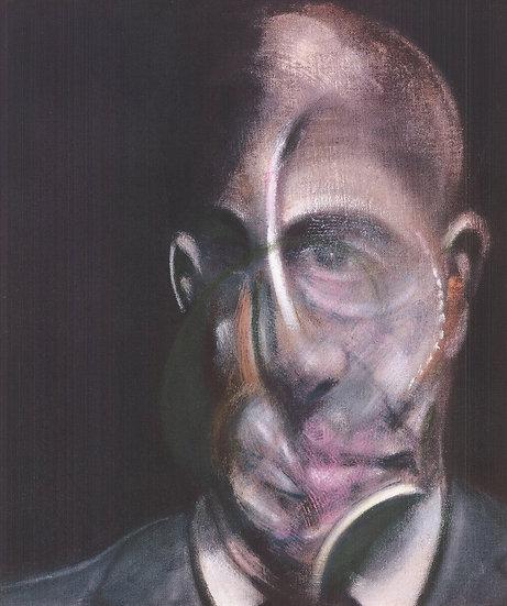 Francis Bacon Portrait of Michel Leiris Print Buy art Online Affordable art Europe
