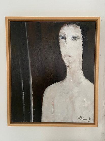 Frans Minnaert  Oil on canvas Schoon vrouw Signed Buy art Online Affordable art Europe Belgium