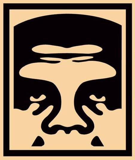 Obey Shepard Fairey buy art online 3 face cream offset poster signed print gallery affordable art europe belgium