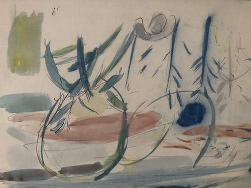 Jean Dufy Original Watercolor on Paper signed buy art online gallery affordable art europe belgium