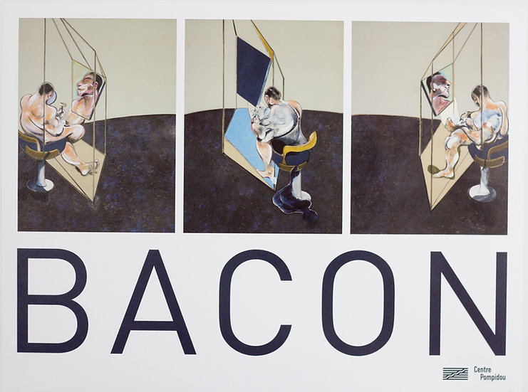 Francis Bacon - Print - Three Studies of the male Back
