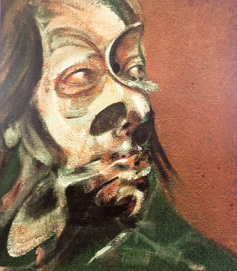 Francis Bacon Study of Isabel Rawsthorne Print Sixties Buy art Online Affordable art Europe