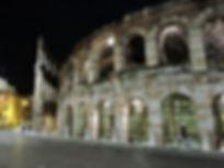 Night-Italy-Verona-Monument-Piazza-Bra-A