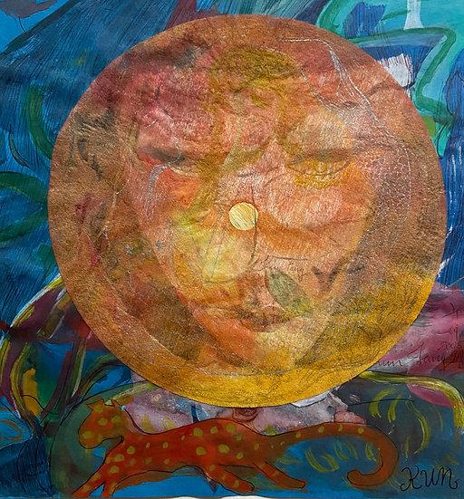 Kun Fang original work on paper signed Belgium Europe buy art online