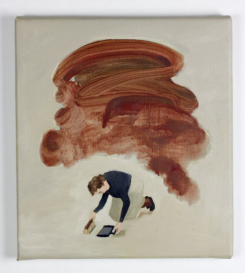 Wivina Ockier - Original work on canvas
