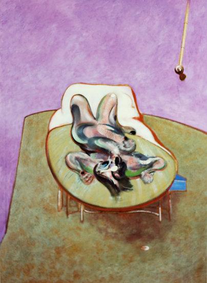 Francis Bacon - Print - Reclining Figure