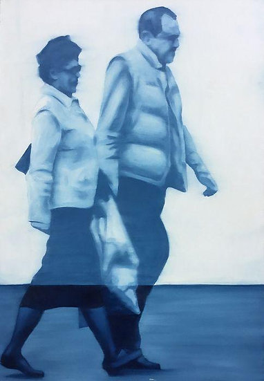 Lampis Marco - Relazioni - Oil on canvas