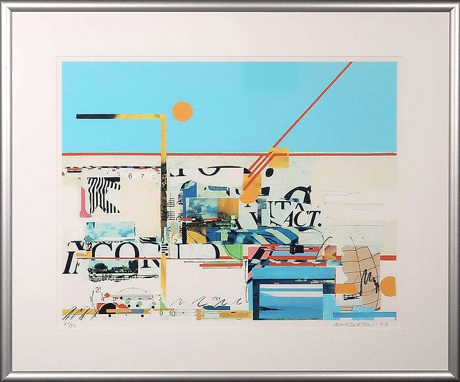 Sam Middleton (1927-2005) - Silk-screen Print, Overtones