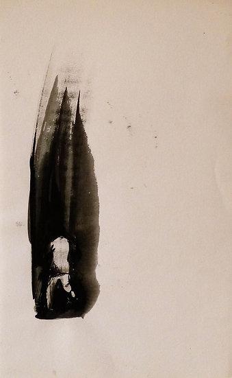 Frederic Belaubre - The Dark Street - Ink Drawing