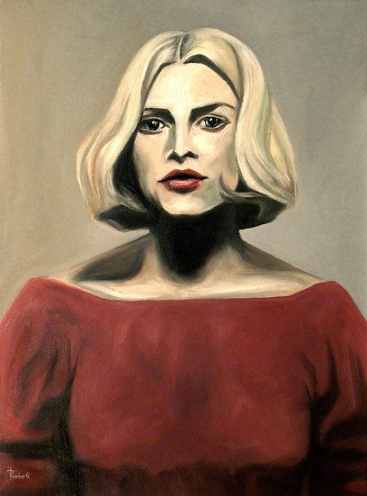 Thomas Pramhas - Oil Painting 'Kinski'