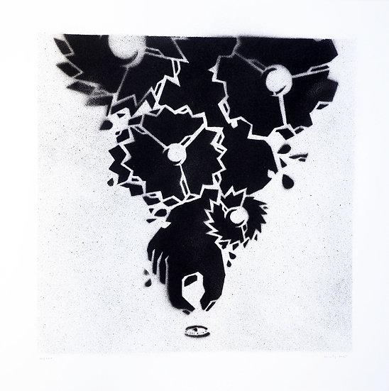 M-City - Hand-sprayed original art work