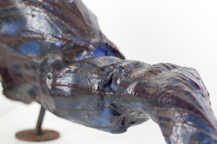 Buy art online Arne Quinze original wall sculpture esta loca affordable art Belgium Europe