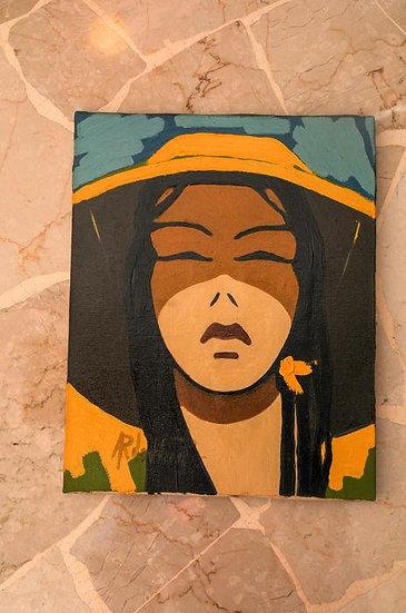 Roberto Ardovino - Oil on canvas 'Oriente'