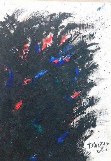 Tsai Hsia Ling - Original Painting 'Concettuale'