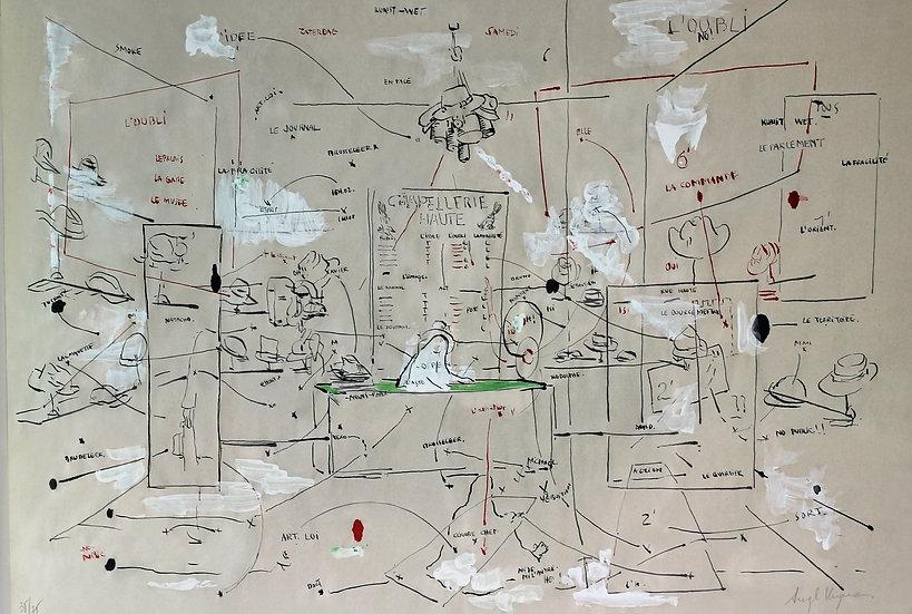 Angel Santiago Vergara - Lithograph - Hand signed - 35/75