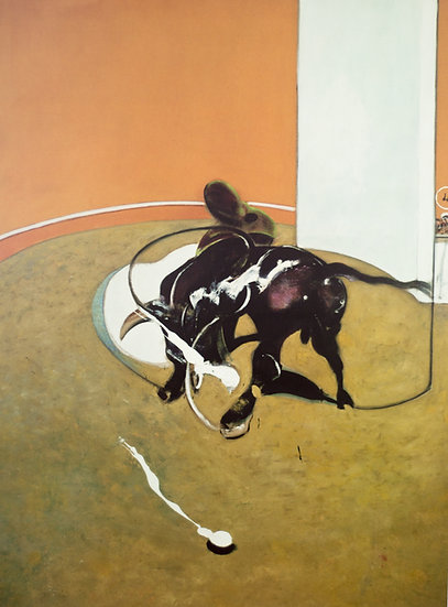 Francis Bacon Study for Bullfight Print Sixties Buy art Online Affordable art Europe