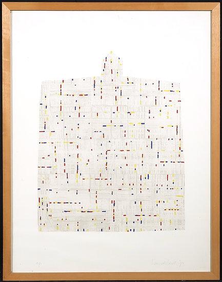 Hans van der Linde - Silk-screen Print