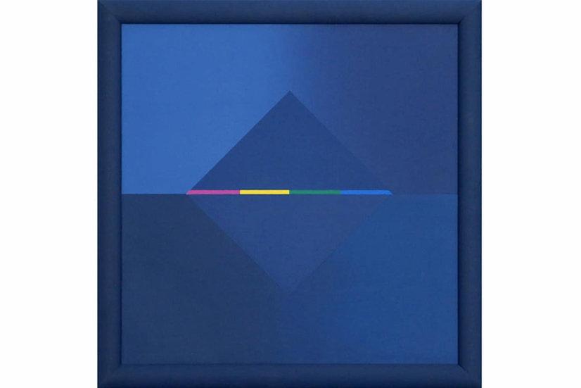 Simonne Van Hool painting oil abstract composition buy art online gallery affordable art europe belgium