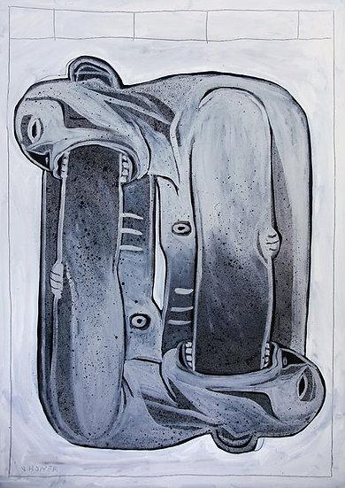 Jone Hopper - Humanity is ignorant  - work on canvas