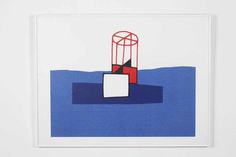 Luc Van Malderen - Signed Lithograph 'Haute'