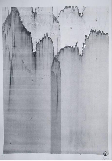 Michael Lentz - Sgraffito 437 - Original drawing