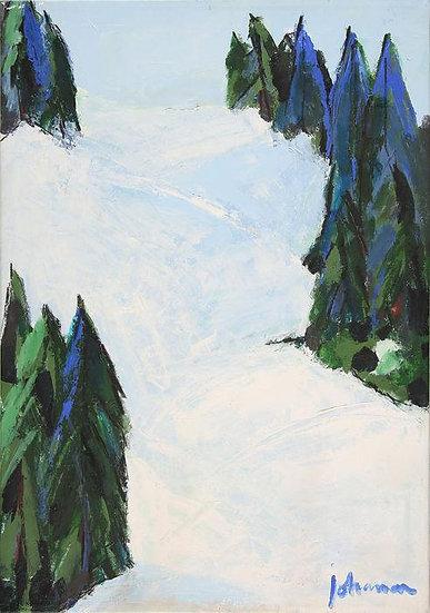 Johanan Herson - Landschaft - Oil on canvas