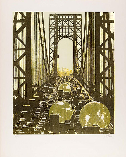 Pol Bury - Brooklyn Bridge - Signed and numbered limited print