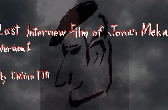 Last Interview Film of Jonas Mekas (Japa