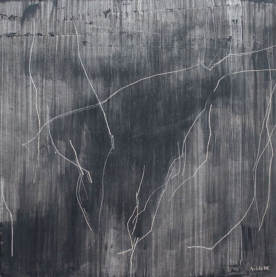 Alex Claude Acrylic on panel Painting À l'origine Signed print Buy art online Gallery Affordable art Europe Belgium France