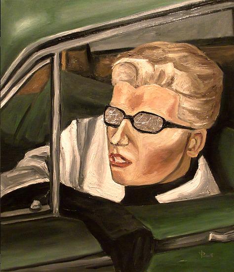 Thomas Pramhas - Oil Painting 'Vertigo'